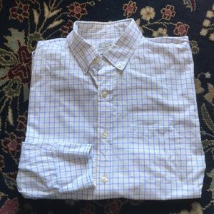 SALE J Crew Button Down Plaid Gridded Men's
